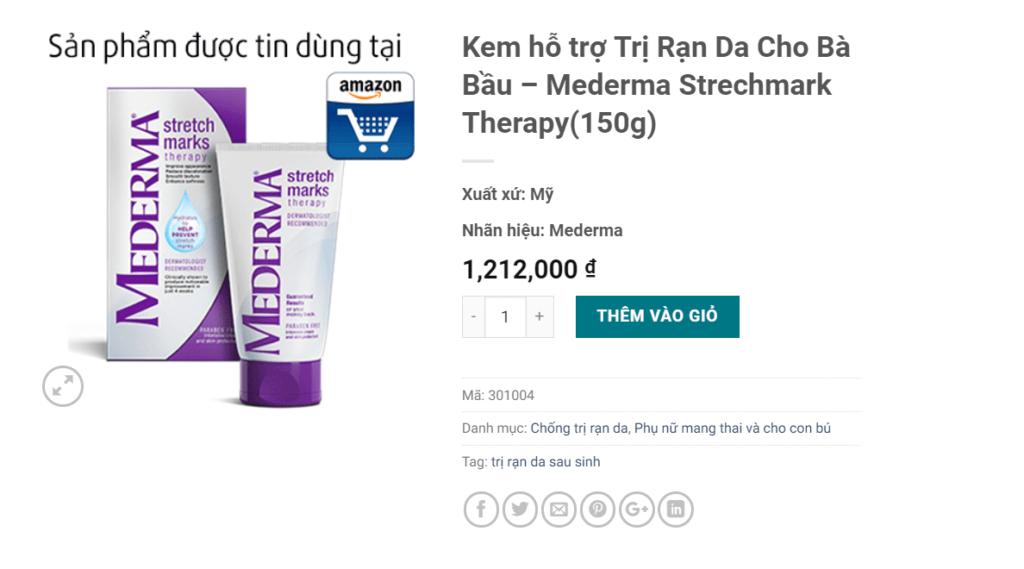 Review kem trị rạn da Mederma Stretch Marks: Công dụng gì, mua ở đâu? 1