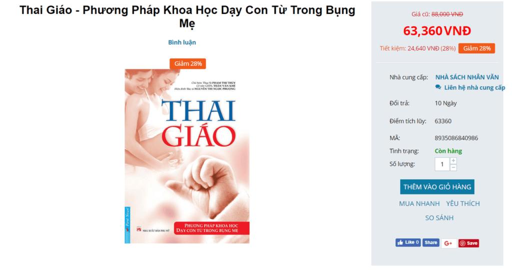 Review 23+ sách thai giáo cho bà bầu nên đọc để con thông minh 14
