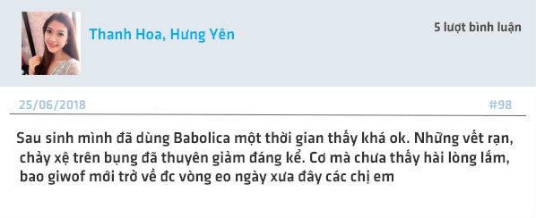 Giải đáp: Kem trị rạn da Babolica có tốt không? giá bao nhiêu? 2