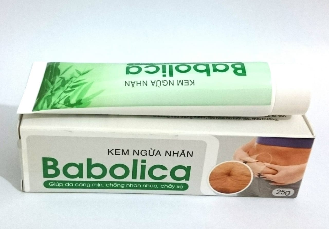 Công dụng của kem trị rạn da Babolica