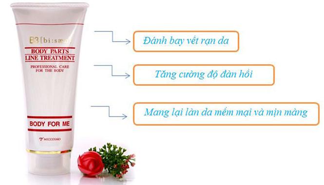 Công dụng của kem trị rạn da sau sinh White Label