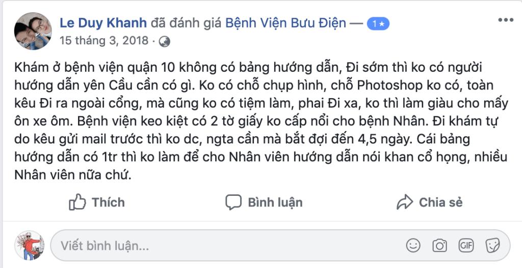 Bệnh viện bưu điện Hà nội có tốt không