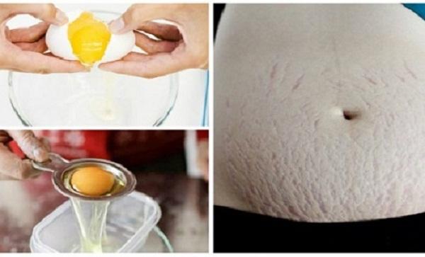 Mặt nạ trứng có khả năng phục hồi da hiệu quả.