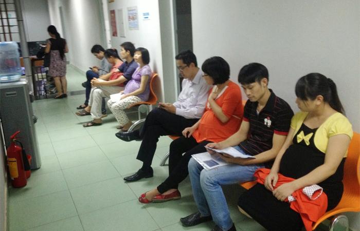 Làm thủ tục nhập viện tại bệnh viện phụ sản Hà Nội