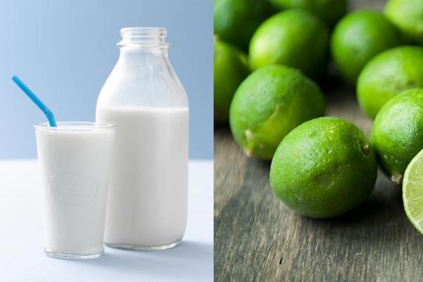 Sử dụng chanh và sữa tươi là cách điều trị rạn da sau sinh mổ hiệu quả