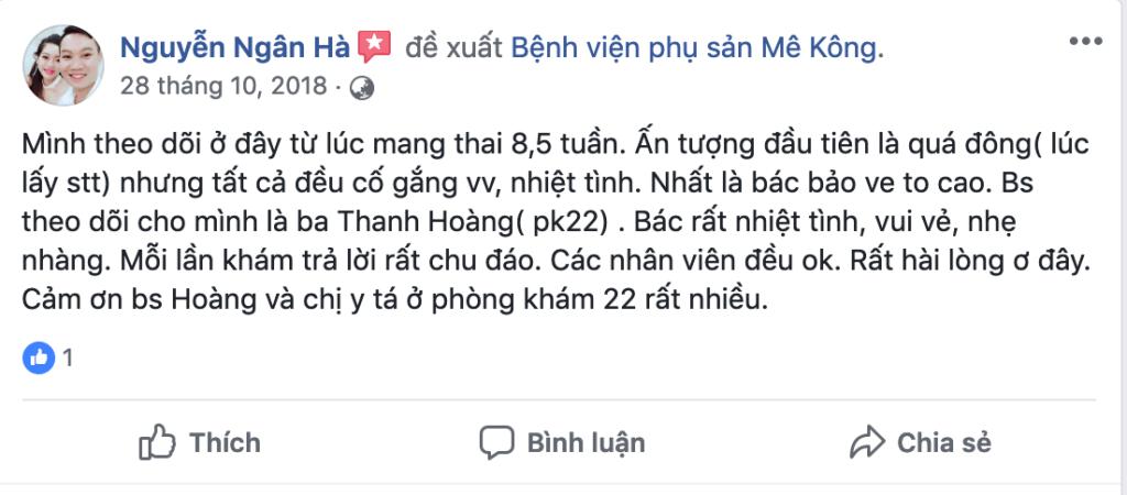 Kinh nghiệm sinh ở bệnh viện mekong 2018 11