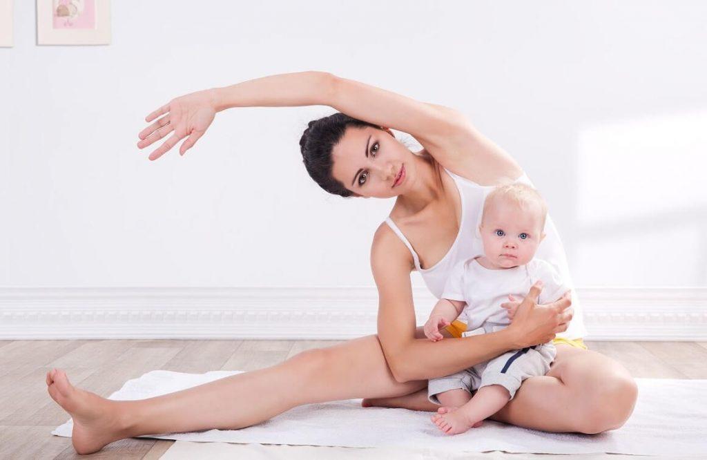 Nên tập luyện trước khi quan hệ lần đầu sau sinh mổ