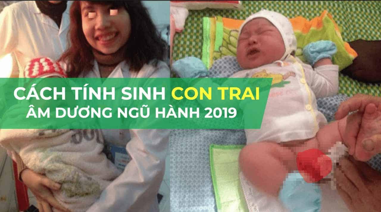 3 cách tính tuổi sinh con trai theo thuyết âm dương chuẩn nhất 2019 1