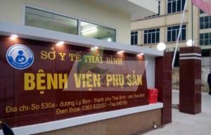 Chi phí & kinh nghiệm đi sinh ở bệnh viện phụ sản Thái Bình 2020 60