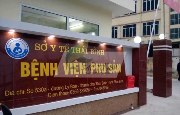 Chi phí & kinh nghiệm đi sinh ở bệnh viện phụ sản Thái Bình 2020 87