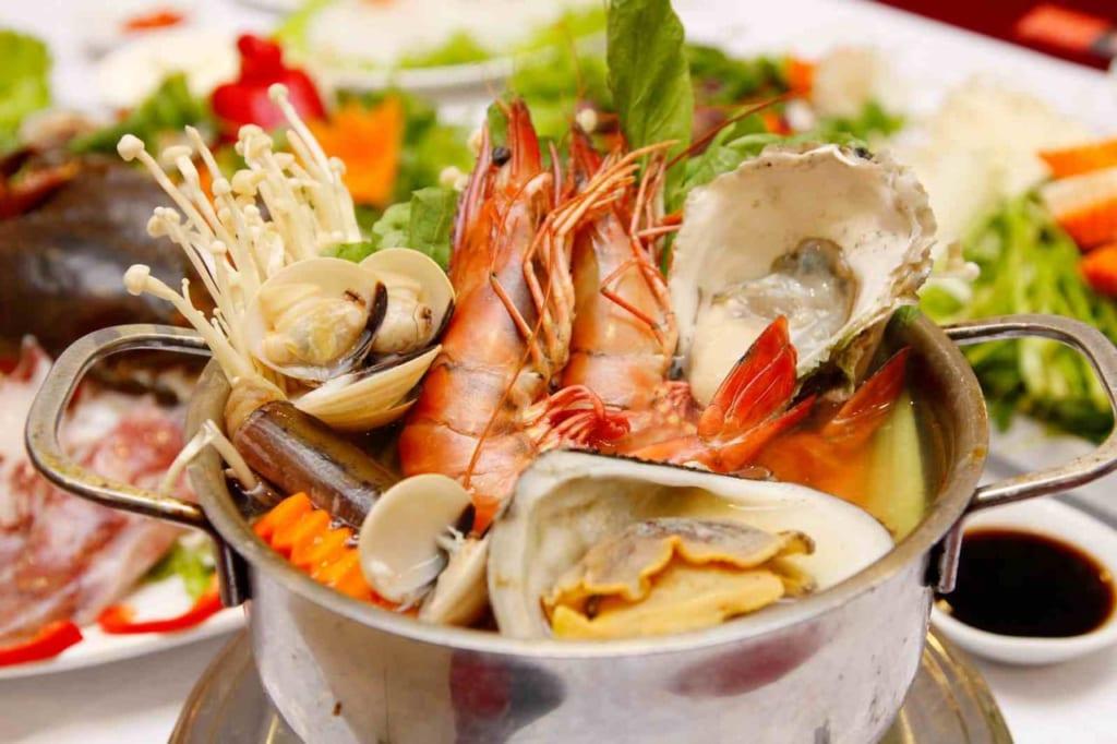 Sau sinh bao lâu thì được ăn hải sản ?