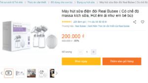 Review máy hút sữa điện đôi Real Bubee có tốt không? Giá bao nhiêu? 8