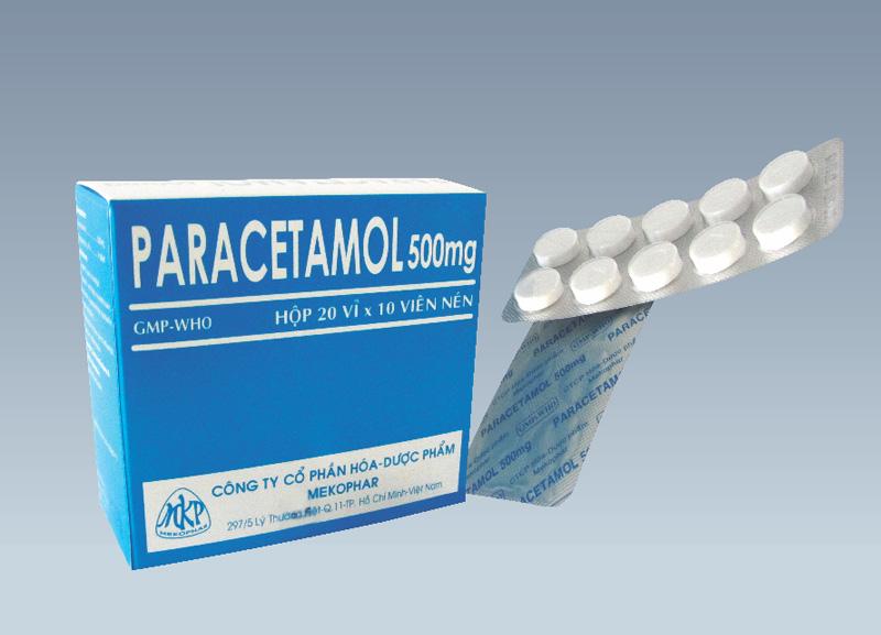 Bà bầu uống paracetamol 500mg được không?