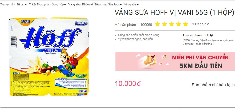 Váng sữa Hoff