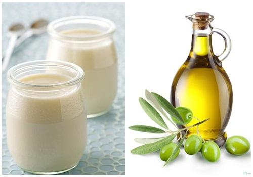 Cách trị rạn da sau sinh bằng dầu oliu kết hợp sữa tươi