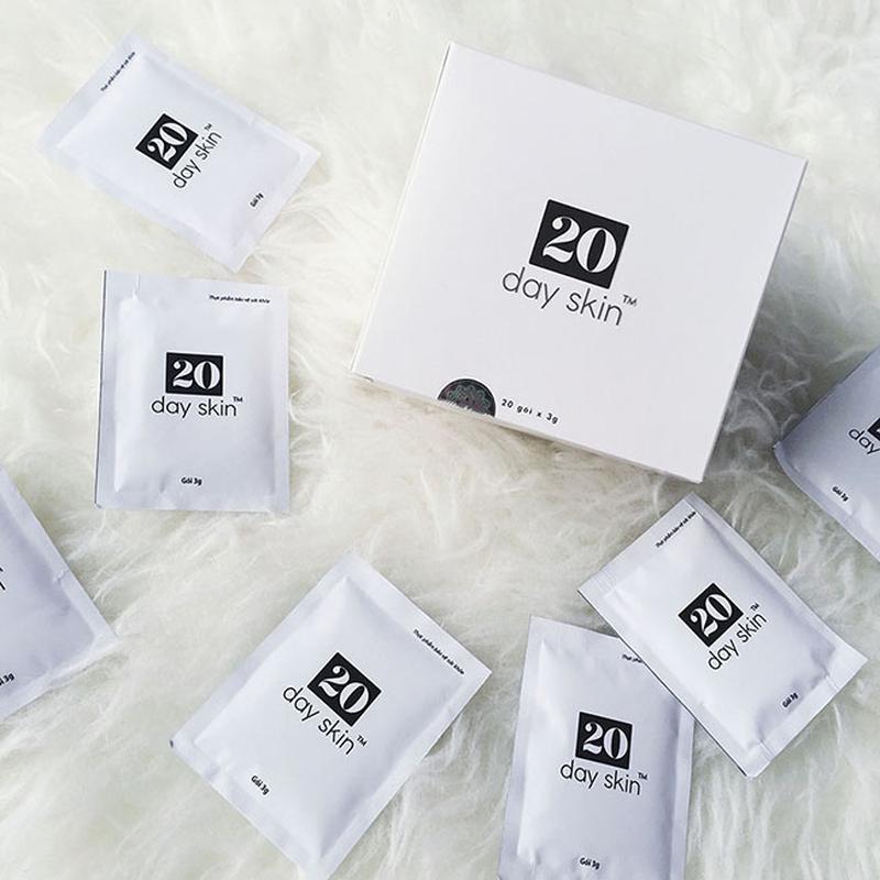 20dayskin được sản xuất từ thành phần tự nhiên, an toàn với da