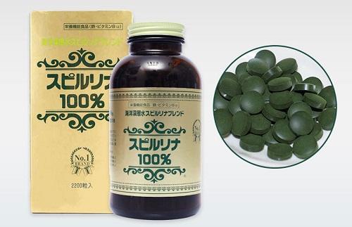 Tảo xoắn Spirulina giúp tiêu độc và giảm cholesterol trong máu