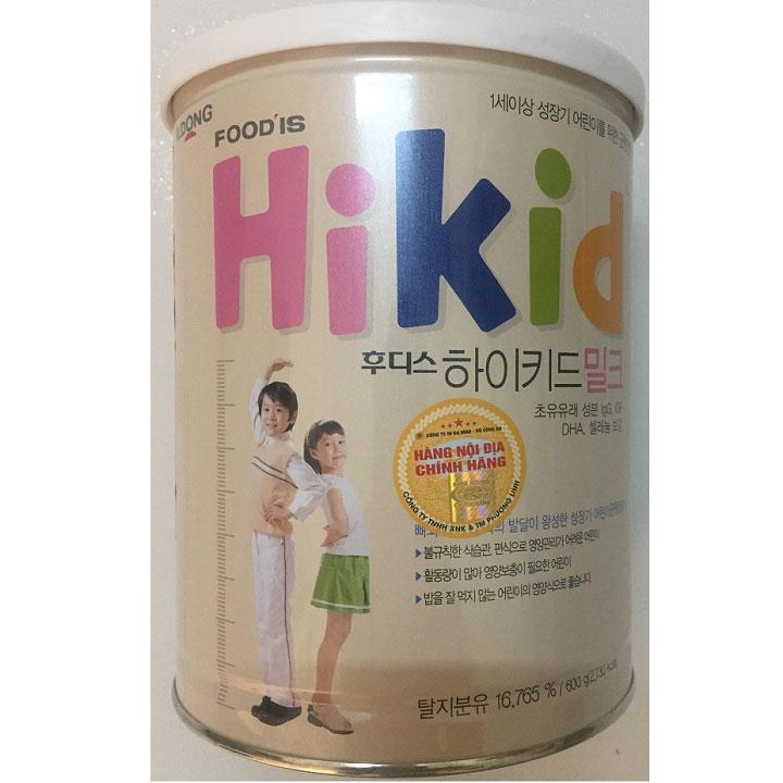Sữa Hikid nội địa Hàn