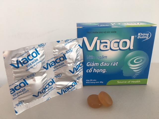 Viên ngậm ho Viacol có dùng được cho bà bầu?