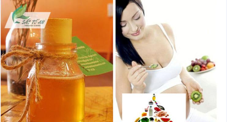 Mang thai 3 tháng đầu có nên uống mật ong? Uống như thế nào? 3