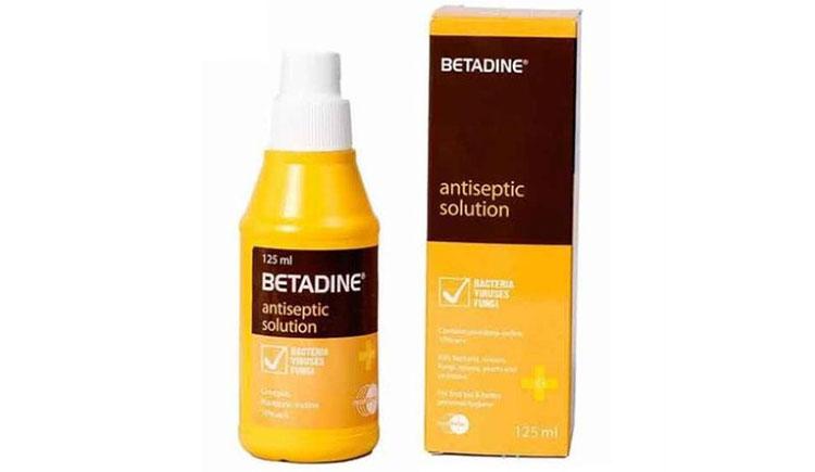Betadine có dùng được cho trẻ sơ sinh?
