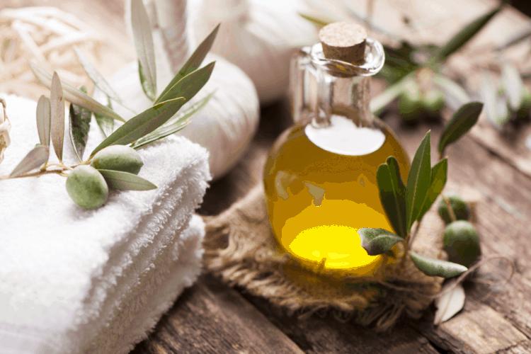 Trị rạn da với dầu ô liu