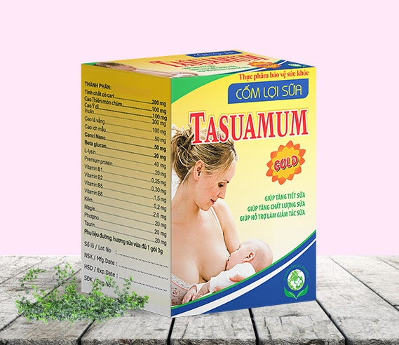 Thành phần của Tasuamum Gold hầu hết là thảo dược, an toàn tuyệt đối