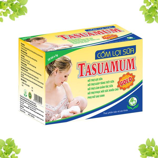Ưu điểm của cốm lợi sữa Tasuamum Gold