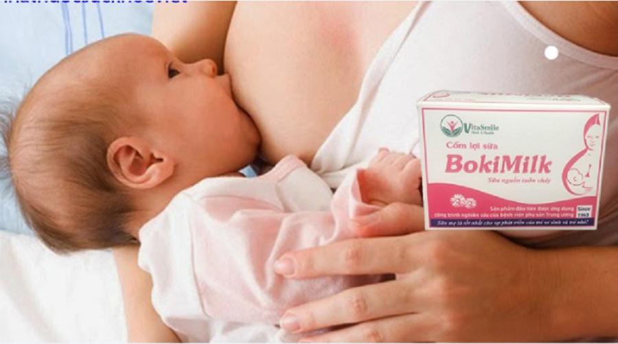 Cốm lợi sữa Bokimilk có tác dụng gì? Cách sử dụng ra sao? 1