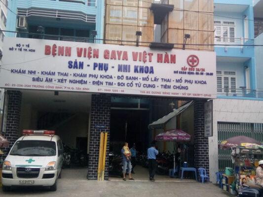 Kinh nghiệm sinh ở bệnh viện phụ sản Gaya Việt Hàn